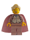 Minifig No: hp029  Name: Professor Gilderoy Lockhart, Sand Red Torso and Legs