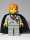 Minifig No: hp030  Name: Ginny Weasley, Gryffindor Shield Torso, Light Gray Legs, Black Cape with Stars