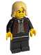 Minifig No: hp039  Name: Lucius Malfoy, Black Suit Torso, Black Legs