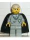 Minifig No: hp040  Name: Draco Malfoy, Slytherin Torso, Black Cape with Stars