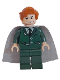 Minifig No: hp042  Name: Professor Remus Lupin - Dark Green Suit
