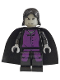 Minifig No: hp050  Name: Professor Severus Snape, Prisoner of Azkaban Pattern, Light Bluish Gray Hands