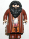 Minifig No: hp061  Name: Rubeus Hagrid, Reddish Brown Topcoat (Light Flesh Version with Movable Hands)