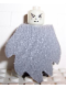 Minifig No: hp069c  Name: Voldemort, Glow In Dark Opaque Head, Light Bluish Gray Dementor Style Cape