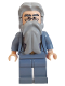 Minifig No: hp072  Name: Albus Dumbledore, Sand Blue Outfit