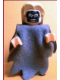 Minifig No: hp073a  Name: Death Eater, Dark Bluish Gray Dementor Style Cape