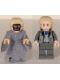 Minifig No: hp073b  Name: Death Eater, Light Bluish Gray Dementor Style Cape
