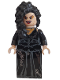 Minifig No: hp092  Name: Bellatrix Lestrange, Black Dress, Long Black Hair