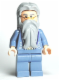 Minifig No: hp099  Name: Albus Dumbledore, Sand Blue Outfit with Silver Embroidery