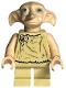 Minifig No: hp105  Name: Dobby (Elf), Light Nougat