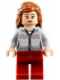 Minifig No: hp121  Name: Hermione Granger, Light Bluish Gray Sweater