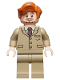 Minifig No: hp130  Name: Professor Remus Lupin - Dark Tan Suit