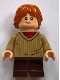 Minifig No: hp142  Name: Ron Weasley, Dark Tan Sweater