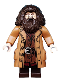 Minifig No: hp144  Name: Rubeus Hagrid, Medium Nougat Topcoat with Buttons