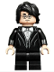 Minifig No: hp184  Name: Harry Potter, Black Suit, White Bow Tie