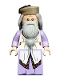 Minifig No: hp190  Name: Albus Dumbledore, Lavender Robe, Dark Tan Hat