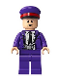 Minifig No: hp192  Name: Stan Shunpike in Knight Bus Conductor Uniform, Red Band on Hat