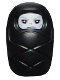Minifig No: hp194  Name: Baby / Infant - with Stud Holder on Back with White Evil Face Pattern (Baby Voldemort)