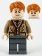 Minifig No: hp211  Name: Arthur Weasley, Dark Tan Sweater, Dark Bluish Gray Legs