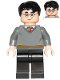 Minifig No: hp220  Name: Harry Potter, Gryffindor Sweater, Black Legs