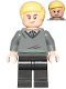 Minifig No: hp221  Name: Draco Malfoy, Slytherin Sweater, Black Legs