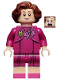 Minifig No: hp235  Name: Professor Dolores Umbridge, Magenta Dress