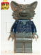 Minifig No: hrf006  Name: Werewolf, Dark Gray Head