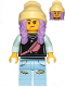Minifig No: hs019  Name: Parker L. Jackson - Black Top with Beanie (Smile / Grumpy)