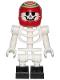 Minifig No: hs042  Name: Douglas Elton / El Fuego - Skeleton