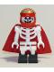 Minifig No: hs044  Name: Douglas Elton / El Fuego - Skeleton with Cape