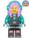 Minifig No: hs058  Name: Parker L. Jackson - Diving Suit with Headphones (Open Mouth Smile / Disgusted)