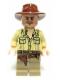 Minifig No: iaj020  Name: Indiana Jones - Open Shirt
