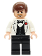 Minifig No: iaj024  Name: Indiana Jones - White Tuxedo Jacket