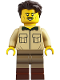Minifig No: idea063  Name: Paleontologist