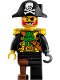 Minifig No: idea065  Name: Captain Redbeard (LEGO Ideas)