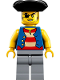 Minifig No: idea066  Name: Quartermaster Riggings
