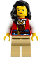 Minifig No: idea067  Name: Lady Anchor