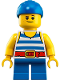 Minifig No: idea071  Name: Jack 'Dark Shark' Doubloons