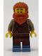 Minifig No: idea082  Name: Blacksmith, Reddish Brown Apron