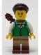 Minifig No: idea083  Name: Huntress, Green Tunic