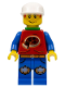 Minifig No: ixs003a  Name: Xtreme Stunts Pepper Roni with Neck Bracket