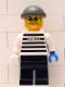 Minifig No: ixs008  Name: Xtreme Stunts Brickster with Dark Gray Knit Cap