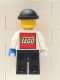 Minifig No: ixs009  Name: Xtreme Stunts Brickster with LEGO Logo on Back