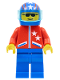 Minifig No: jstr005  Name: Jacket 2 Stars Red - Blue Legs, Blue Helmet 4 Stars & Stripes, Trans-Light Blue Visor
