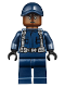 Minifig No: jw039  Name: Guard, Ball Cap, Reddish Brown Head