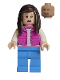 Minifig No: jw051  Name: Tourist - Pink Jacket