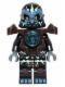 Minifig No: loc035  Name: Gorzan - Dark Brown Heavy Armor
