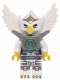 Minifig No: loc058  Name: Eris - Silver Outfit, Flat Silver Armor