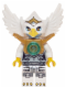 Minifig No: loc071  Name: Eris - Silver Outfit, Pearl Gold Armor