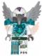 Minifig No: loc074  Name: Voom Voom - Trans-Light Blue Heavy Armor